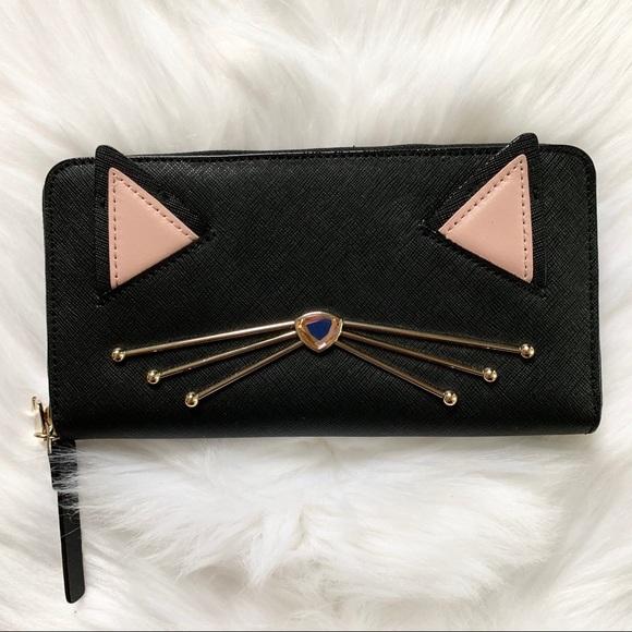 kate spade Handbags - Kate spade Neda jazz things up wallet black cat
